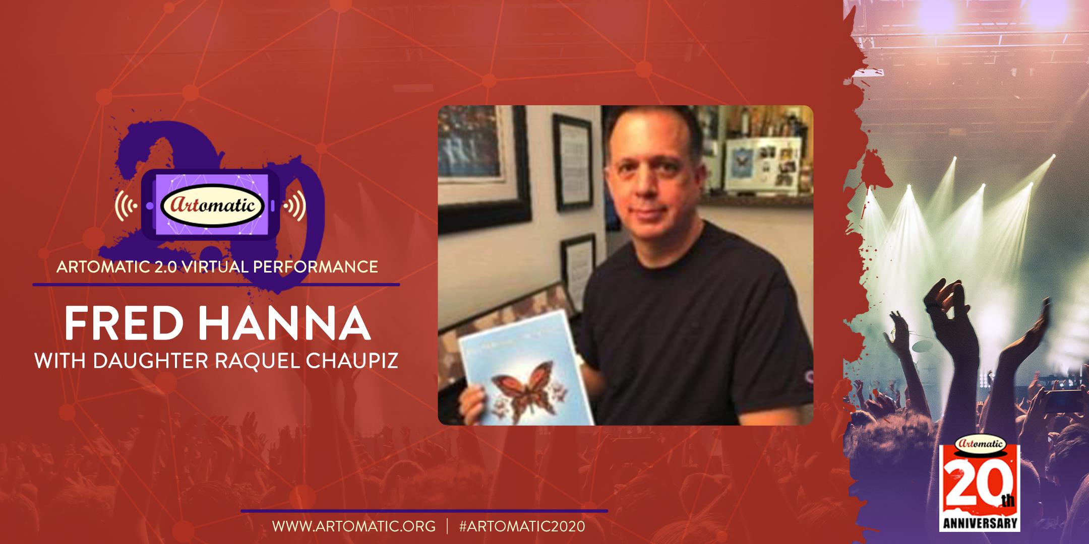 Performance: Artomatic 2.0 Performance: Fred Hanna & Raquel Chaupiz (YouTube)
